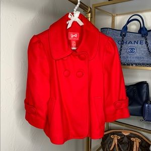 Forever21 Red Cropped Clay